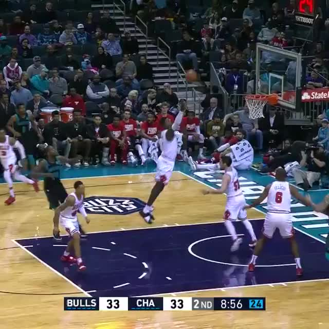 Watch and share Charlotte Hornets GIFs and Chicago Bulls GIFs on Gfycat