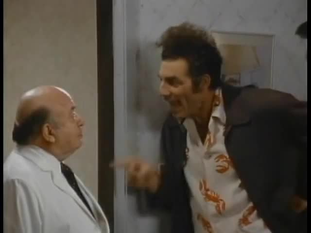 Watch Cosmo Kramer  - The ASSMAN (Seinfeld) GIF by @gfymon on Gfycat. Discover more assman, cosmo, seinfeld GIFs on Gfycat