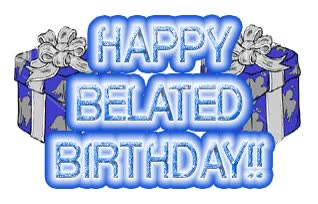 Watch and share Belated Birthday GIFs on Gfycat