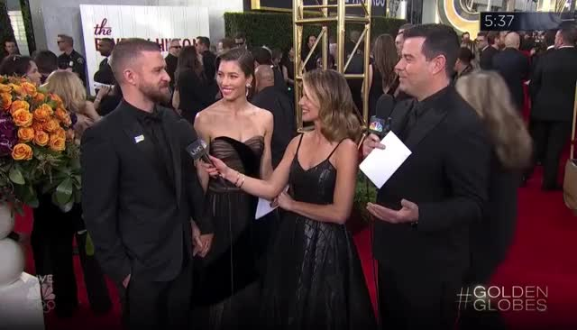 Watch this golden globes GIF by GIF Reactions (@visualecho) on Gfycat. Discover more Golden Globes, GoldenGlobes, Jessica Biel, Justin Timberlake, Power Couple GIFs on Gfycat
