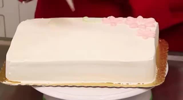 Contemporary Design On A Quarter Sheet Cake Gif Find Make Share