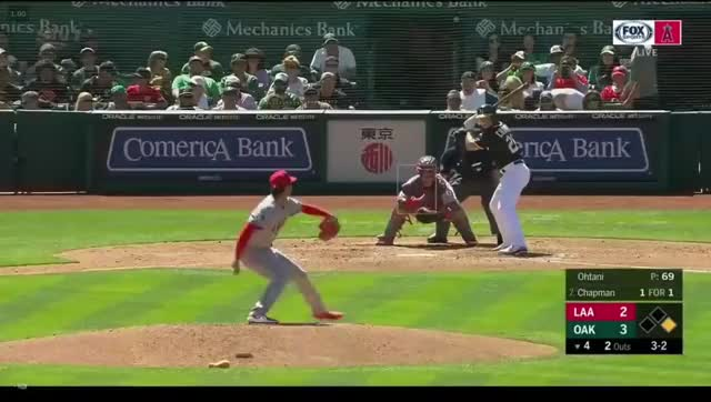 Watch and share Angels Game April 1 GIFs and Angels Vs Athletics GIFs on Gfycat