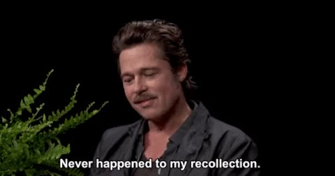 Watch Between Two Ferns GIF on Gfycat. Discover more brad pitt GIFs on Gfycat