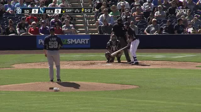 Watch and share DJ Peterson Spring Training HR 1st Game! GIFs by mistabanks on Gfycat