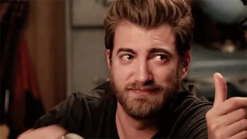 Watch on the smokish scale. GIF on Gfycat. Discover more 7, 731, gif, gmm, good mythical morning, hahahaha, i loved how he sassily rubbed it all over his lips, rhett and link, rhett gmm, rhett mclaughlin, season finale, ~ GIFs on Gfycat
