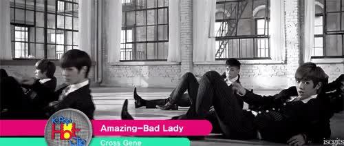 Watch Cross Gene GIF on Gfycat. Discover more amazing, amazing-bad lady, bad lady, casper, cross gene, crossgene, iscgits, kpop, sangmin, seyoung, shin, shin wonwho, shinwonho, takuya, yongseok GIFs on Gfycat