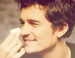 Watch and share Orlando Bloom GIFs on Gfycat
