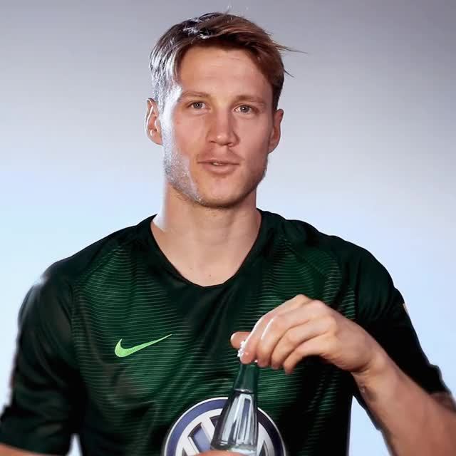 Watch and share 9 Drink GIFs by VfL Wolfsburg on Gfycat