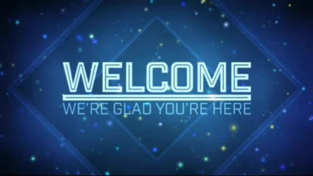 Watch and share Welcome To Church Blue Background Motion Video Loops HD GIFs on Gfycat