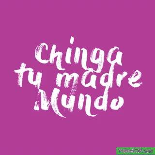 Watch and share CHINGA TU MADRE MUNDO GIFs on Gfycat