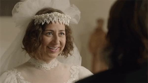 Watch this marriage GIF on Gfycat. Discover more kristen schaal, marriage, wedding GIFs on Gfycat