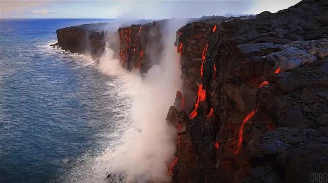 Watch and share Magma GIFs and Lava GIFs by tajziya on Gfycat