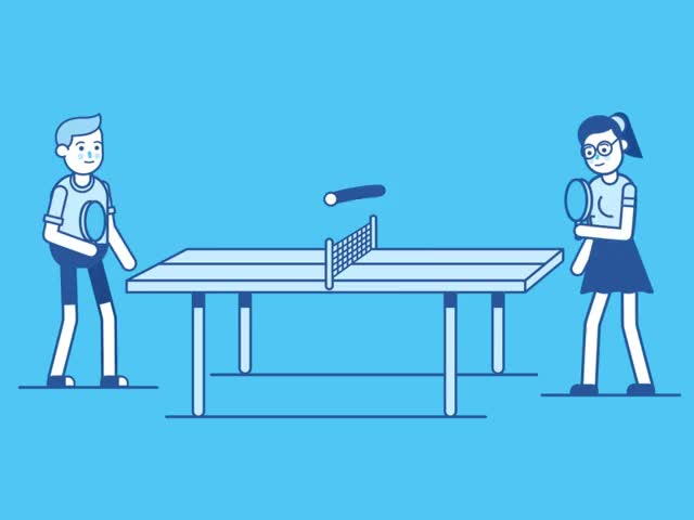Watch and share Ping-pong GIFs on Gfycat
