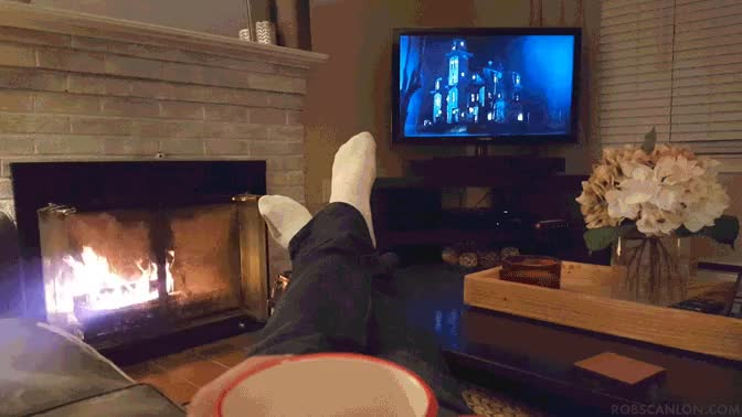Scary Movie Night : Cinemagraphs GIFs