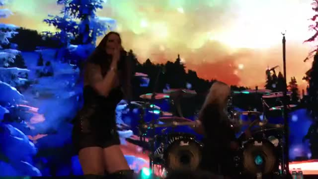 Watch Floor Jansen Dancing GIF on Gfycat. Discover more related GIFs on Gfycat