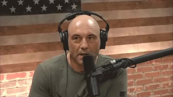 Watch and share Joe Rogan GIFs and Reaction GIFs by AEARONJER CIRCUMSTANCE on Gfycat