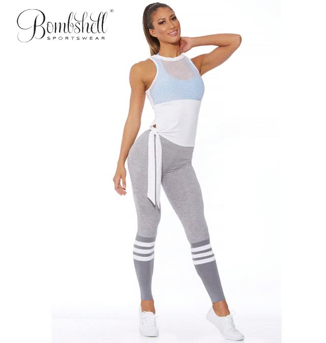 Watch and share Athletic Leggings GIFs and Sock Legging GIFs by Bombshell Sportswear on Gfycat