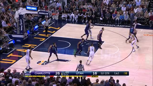 Watch and share Exum Left Drive_Hornets GIFs by Ben Mallis on Gfycat
