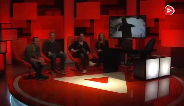 Watch and share Wir Zocken RESIDENT EVIL 7 LIVE Im Studio (mit Lara Loft) | Talking Games GIFs on Gfycat