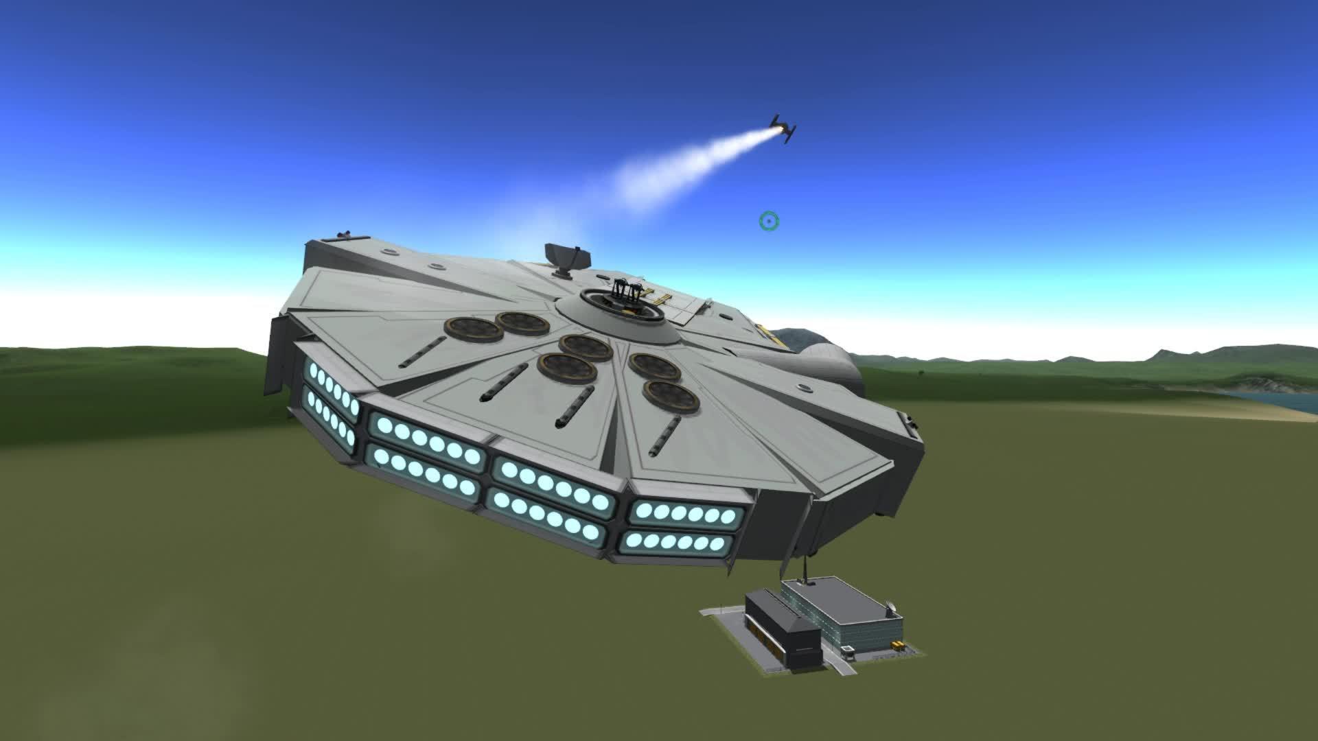Star Wars, gaming, Millennium Falcon GIFs