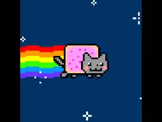 Watch Nyan Cat 10 hours (original) GIF by da nya cat!!! (@danyacat) on Gfycat. Discover more 10 hours, 10h, amazing, annoying, cat, everything, flying, long, longest nyan, longest video, loop, nyan, nyan nyan, nyanya, pop, rainbow, rainbows, space, tart, through GIFs on Gfycat