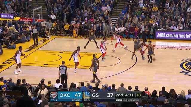 Watch and share Basketball GIFs and Russ Steal GIFs by denebula on Gfycat