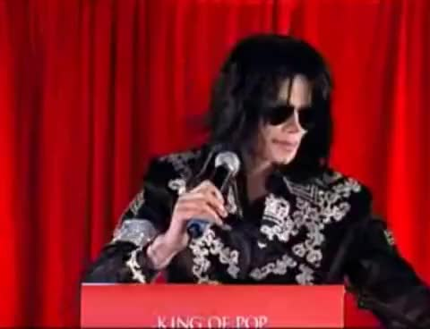 Watch tii announcement GIF on Gfycat. Discover more Comeback, King of Pop, Michael Jackson, This Is It, Unbreakable GIFs on Gfycat