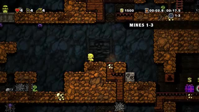 Watch and share Spelunky Crazy Whip GIFs by krille71 on Gfycat