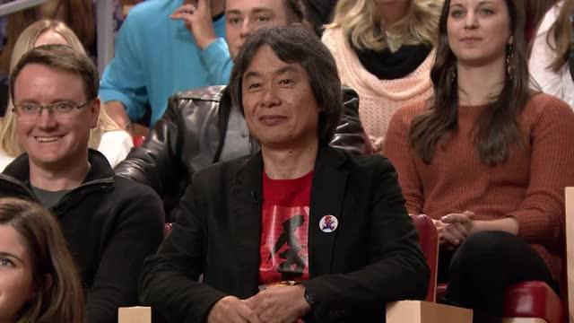 Watch Shigeru Miyamoto Laugh GIF by @ameraqt on Gfycat. Discover more nintendo switch, shigeru miyamoto, the tonight show GIFs on Gfycat