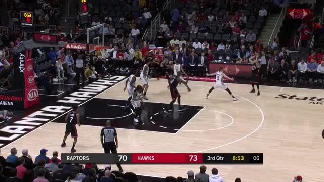 Watch and share Toronto Raptors GIFs and Atlanta Hawks GIFs by louiszatzman on Gfycat
