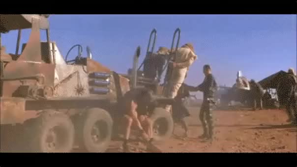 Watch and share The Road Warrior GIFs and Post Apocalyptic GIFs by AEARONJER CIRCUMSTANCE on Gfycat