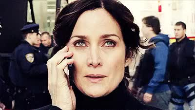 Watch and share Carrie Anne Moss GIFs on Gfycat