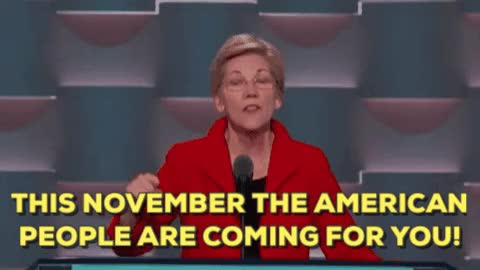 Watch and share Elizabeth Warren GIFs on Gfycat