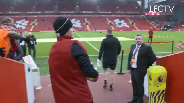 Watch Inside Anfield: Liverpool 1-1 Everton | TUNNEL CAM GIF on Gfycat. Discover more related GIFs on Gfycat