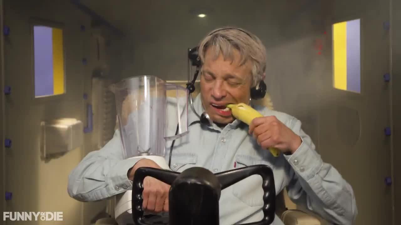Harrison Ford's Latest Death Defying Flight, chris kattan, fod, funny or die, funnyordie, Harrison Smoothies GIFs