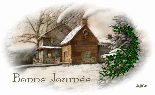 Watch and share Bonne Journée - Neige - Hiver - Gif Scintillant - Gratuit GIFs on Gfycat