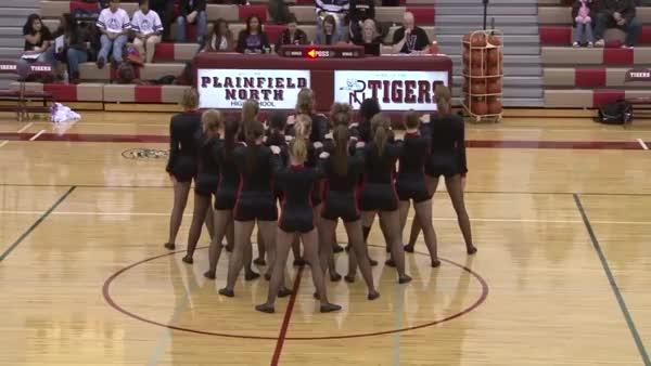 Watch and share PNHS Poms - Secret Agent Competition Kick Dance Routine 2009 Plainfield Illinois High School Il (reddit) GIFs on Gfycat