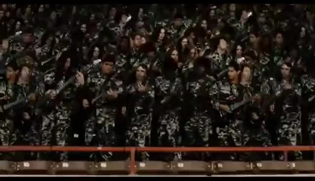 Watch and share Idiocracy - Guitar Army GIFs on Gfycat