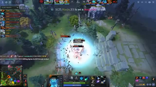 TIGERS vs DRAGONS - KING'S CUP 2 SEA DOTA 2 GIF | Find, Make