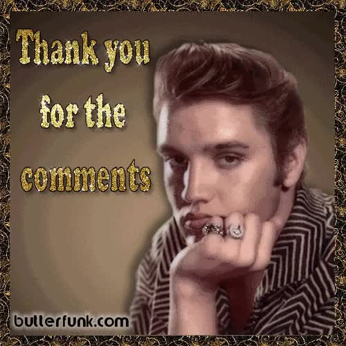 Watch and share Elvis Presley Thank You GIFs on Gfycat