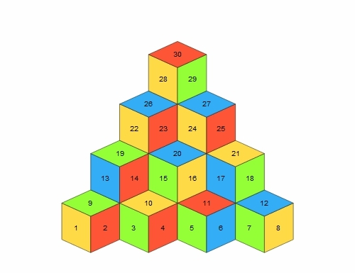 gif, math, mathematics, puzzle, Can you climb to the top? You can move to an adjacent face b GIFs