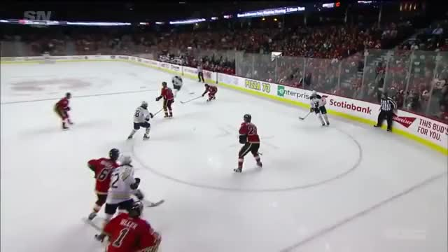 Watch and share Ristolainen Goal - Flames 3-3 GIFs by falseperm on Gfycat