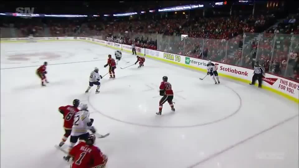 calgaryflames, Ristolainen Goal - Flames 3-3 GIFs