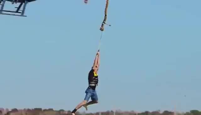 Watch Helicopter Rope Swing GIF on Gfycat. Discover more related GIFs on Gfycat