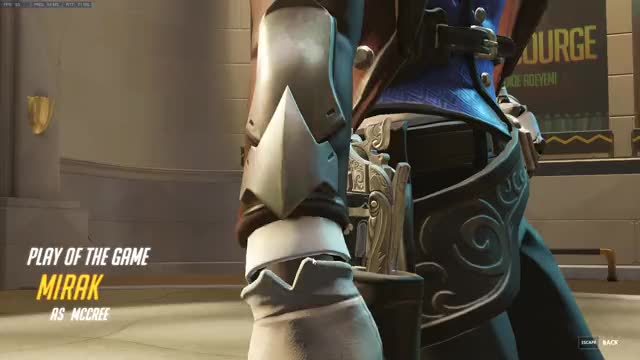 Watch and share Overwatch GIFs and Highnoon GIFs by bluenoser33 on Gfycat
