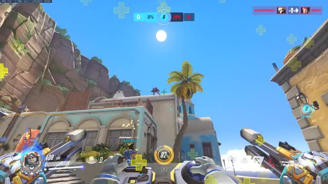 Watch Genji's Alarm Clock GIF by johnwayz (@cookienomster) on Gfycat. Discover more cookienomster, gaming, johnwayz, overwatch, wrecking ball GIFs on Gfycat