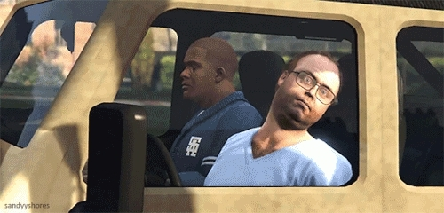 *, f, franklin clinton, grand theft auto v, gta, gta v, gtav, lester, merfish, mine, mods ruin games, mygifs, requested, You can dance, you can jive, having the time of your life GIFs