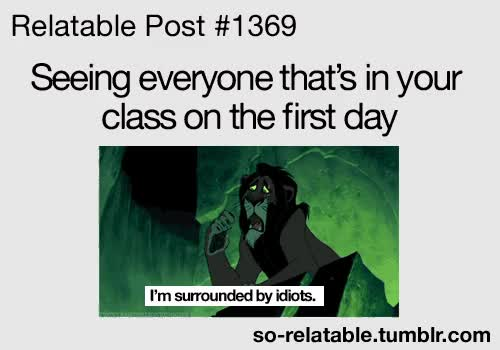Watch and share Gif LOL Funny Gifs Class Funny Gifs I Can Relate Relatable First Day So Relatable GIFs on Gfycat