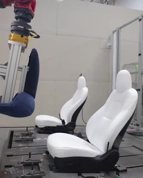 Watch Seat testing GIF by PracticalProperty (@practicalproperty) on Gfycat. Discover more ElonMusk, Model3, Tesla GIFs on Gfycat