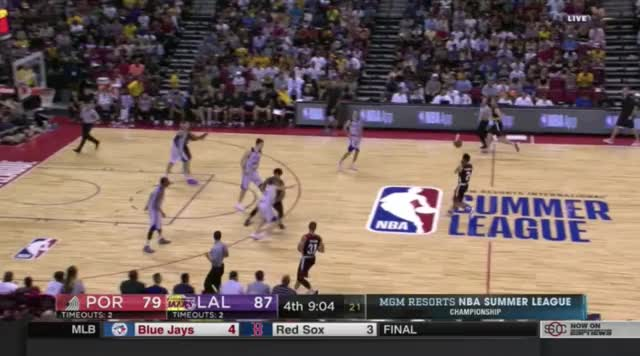 Watch and share Kuzma Swanigan Battle GIFs by @KevinOConnorNBA on Gfycat